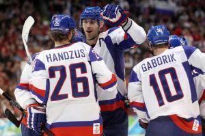 Ice Hockey - Day 12 - Norway v Slovakia