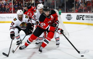 Chicago Blackhawks v New Jersey Devils