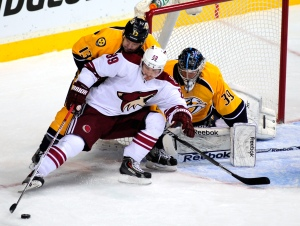 Phoenix Coyotes at Nashville Predators