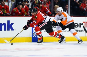 NHL: Philadelphia Flyers at Chicago Blackhawks