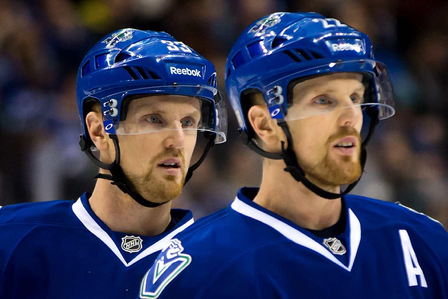 Daniel and Henrik Sedin's Final NHL Game - Behind-the ...